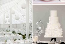 white -color for our renewal wedding / by Jennifer Humphrey