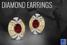 Diamond Earrings / Johareez diamond earrings collection