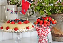norwegian table decor