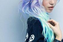 (Pastel) hair