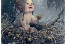 elfen baby's