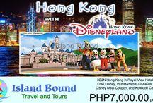 Hong Kong / Email us for your domestic and international travel needs at islandboundtravelandtours@yahoo.com or you may call us at 359-9605 / Globe: 0927-3127591 / Smart: 0999-3430758 / Sun: 0932-2466276