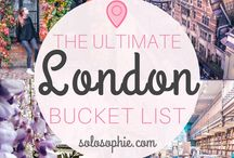 The London bucket list.