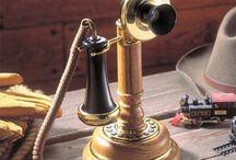 Telefonos antiguos / by pilar canadell melis
