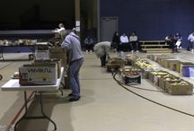 Food Thing Baby!!!! / Pictures from the Saturday Night Food Thing Distribution