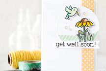 Craft ~ Get Well Soon / Get Well Soon ~ cards, packaging, tags, wrapping and gifts