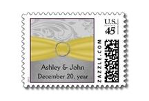 USPS wedding stamps / custom usps wedding postage, personalized wedding stamps