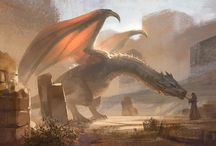 Here There Be Dragons / Dragon Art