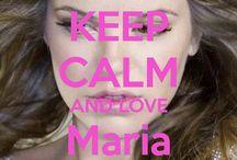 <3 Keep calm: Maria Isabel <3 / Este tablero lo he creado para tener todos los Keep calms de Maria Isabel :)