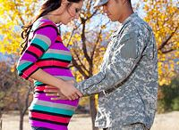 Pregnant Millife / Having a baby can be daunting... especially when you're living OCONUS, dealing with deployment, or whatever else military life throws at us!