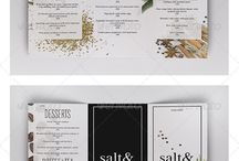 Menu Design Inspiration