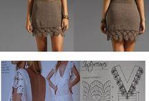 платья, кардиганы вязание