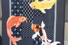 рыбки в квилте