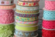 ribbon and fabric organize