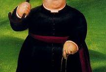 Фернандо Ботеро / Фернандо Ботеро (исп. Fernando Botero, р. 1932) – современный колумбийский художник. Биография, картины: http://contemporary-artists.ru/Fernando_Botero.html