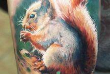 squirrel tattoo ideas