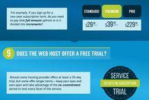 Web Hosting / Tips for web hosting