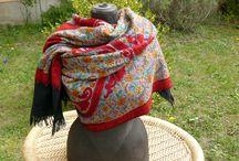 Indische Schals und Tücher