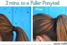 Frisuren / Ideensammlung zum Thema Haare, Frisuren, Styling,