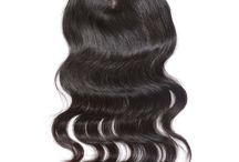 Hair Closures / Sharing different kinds of human hair closures from the omgnb.com, such as middle part lace closure, free style lace closure, three parts top closure, all are hand made high quality hair closures.