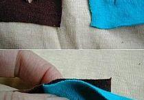 alfombras c tiras de telas