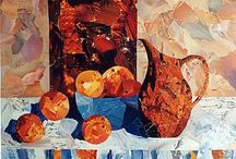 Still life collages