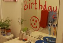 Surprise matin d'anniversaire