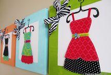 Canvas Ideas / by Lori Garrett