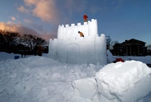 Dartmouth Winter Carnival snow sculptures / by Dartmouth Alumni