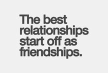 It always starts with friends / But sometimes it won't end with friends