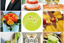 ...wedding colors, flowers and tables...oh my!!  / by Katie Unger