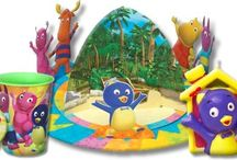 Backyardigans Birthday Party Ideas, Decorations, and Supplies / Backyardigans Party Supplies from www.HardToFindPartySupplies.com, where we specialize in rare, discontinued, and hard to find party supplies. We also carry several of the more recent party lines.  / by Hard To Find Party Supplies