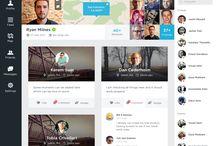 Social Media UI