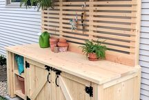 greenhouse work bench