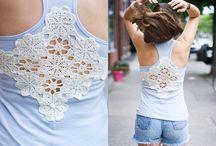 Customização roupas / costuras / by Cida Freitas