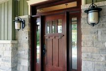 Front Door ideas / We need a new front door! / by Jenny