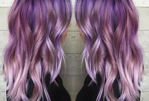 Purple ombre hairrrr
