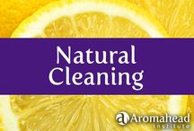 Natural Cleaning / Make your home sparkling clean and sweet smelling the all-natural way!  There's a lot to love about green cleaning.  It is reassuring to know that you're not getting toxic chemicals on your skin or on the surfaces in your home that you, your kids, and your pets come in contact with. www.aromahead.com  / by Aromahead Institute/Study Aromatherapy