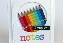 SugarCuts - Notebook Journal Card / SugarCuts - Notebook Journal Card die inspiration board