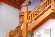 Timber Frame Homes / Take a peek at some of the gorgeous timber frame homes created by Pioneer Log Homes of B.C. / by Timber Kings