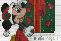 Disney Cross Stitch Chrismas