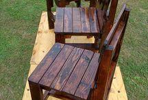 cadeiras de paletes