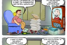 Te komiksy to moje życie smutne życie