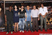 Celebs at B.A. PASS press conference  / #MaheshBhatt, #BharatShah, #AjayBahl, #ShilpaShukla, #ShadabKamal, #DibyenduBhattacharya and others graced the press conference of B.A. PASS. / by Glamsham