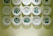 Muro de platos