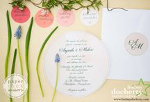 Watercolor Wedding Stationery
