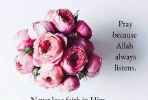 pray because Allah always listen