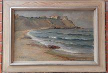 Russian Painting 20 century identification