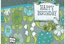 Violet Cottage Greeting Cards / Violet Cottage Card Designs