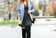 dress in the cold season